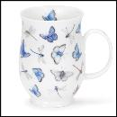 Designertassen - Dunoon - Fine Bone China  : Tasse, Suffolk Meadowsong Damselfies
