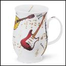 Designertassen - Dunoon - Fine Bone China  : Tasse, Suffolk Instrumental Guitar