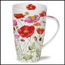 Designertassen - Dunoon - Fine Bone China  : Tasse, Henley Poppies Mixed