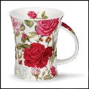 Designertassen - Dunoon - Fine Bone China  : Tasse, Richmond Rosaceae Medium