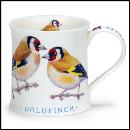 Designertassen - Dunoon - Fine Bone China  : Tasse, Wessex Wild Birds 2 Goldfinch